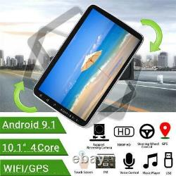 10.1in 2DIN Android9.1 Car Radio Stereo MP5 Player GPS Sat Nav FM WiFi Bluetooth