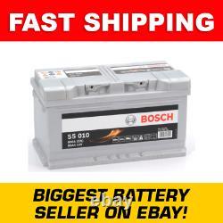 110 / 115 Heavy Duty Bosch Car Van Battery 12V 85Ah S5010 5 Year Warranty Ne