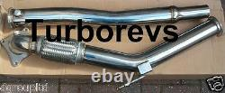 2.0t A3 S3 Quattro Golf Gti R Stainless Steel Exhaust Turbo Decat Downpipe 229