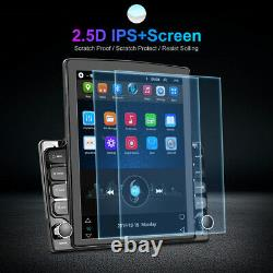 2Din 9.7in Android 9.1 Car Stereo Radio MP5 Player Sat Nav GPS Bluetooth WIFI FM