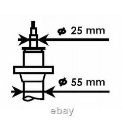 2x SACHS STOßDÄMPFER + DOMLAGER + PROTECTION KIT VORNE VW GOLF 5 6 PASSAT 3C B7