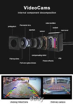 360°1080P HD Car DVR Bird View Panoramic System Seamless 4 Camera Sensor