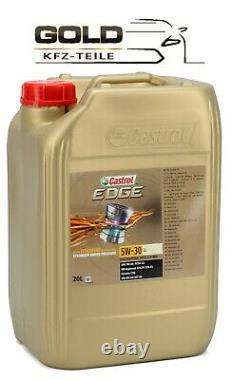 5W 30 Castrol EDGE LL 20 Liter Motorenöl VW 504 00 507 00 Longlife TITANIUM FST