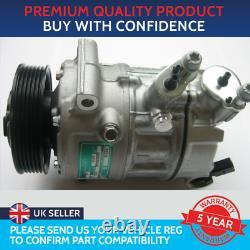 Air Con Compressor Pump To Fit Audi A1 A3 A4 Q3 Seat Leon Skoda Octavia Vw Golf