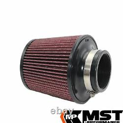 Air Filter Intake Induction Kit by MST Performance for Golf mk5 GTI mk6 R TFSI