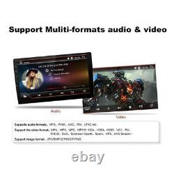 Android 8.1 10.1 Double Din Quad-core Car Stereo Radio MP5 Player Bluetooth GPS