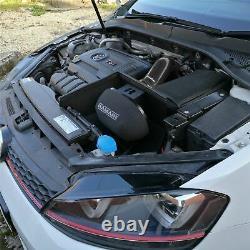 Black Ramair Air Filter Induction Intake Kit for VW Golf mk7 2.0 TSI GTI MQB
