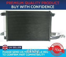 Condenser Air Con Radiator To Fit Audi A3 Tt Seat Leon Skoda Octavia Vw Golf
