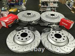 For Vw Golf R Mk7 2.0 Dsg Gti Performance Clubsport Edition 40 Brake Discs Pads