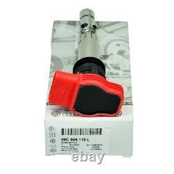 Genuine 4x Ignition Coil Pack U5014 For Audi R8 Q7 A3 A4 GOLF 5/LEON 06C905115B