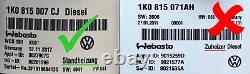 OEM Webasto Telestart T91R Steuergerät 7N0963513B & VW Fernbedienung 7N0963511