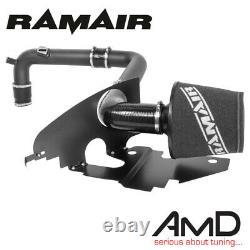 Ramair AUDI S3 8P Induction kit & Heat Shield EA113 2.0 TFSi Intake Air Filter