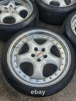 Rial Imola 17 2 Piece Split Rim Alloy Wheels Rims 5x100 VW Audi Seat Skoda