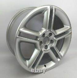 Set Of Four Genuine Volkswagen 17 5x100 Bi Turbo Bbs Alloy Wheels X4 No Caps