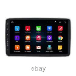 Single DIN Car Touch Screen 10.1'' Android 8.1 Stereo Radio GPS WiFi Mirror Link