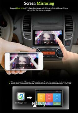 Touch Screen 9 1 Din Android 9.1 Car Stereo Radio GPS SAT NAV WiFi Mirror Link