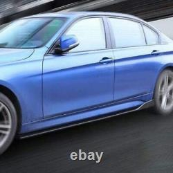 Universal Car Front Bumper Lip Spoiler Splitter +78.7 Side Skirts Extensions UK