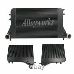 Upgraded Aluminum Intercooler For Audi A3 S3 8P TT TTS 8J 2.0 TFSI Skoda Octavia