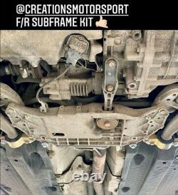 VW AUDI SEAT SKODA 2.0 TFSI Sport Dead Set Front & Rear Sub-Frame Collar Kit-173