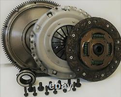 VW GOLF CLUTCH KIT & FLYWHEEL SOLID MASS GOLF MK V, MK VI 1.9 &1.6 TDI 08 to 18