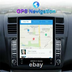 1+16 Go Android 9.1 4-core 9.7in Voiture Stereo Fm Mp5 Player Bluetooth Gps Sat Nav