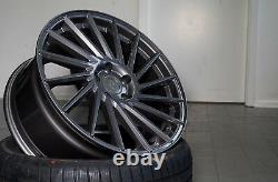 18 Zoll Keskin Kt17 Alu Felgen 8x18 Et 45 5x112 Grau Für Audi Vw Seat Skoda