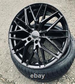 19 Zoll Damina Dm08 Felgen 5x112 Für Vw Audi Seat Skoda Tiguan Passat Karoq