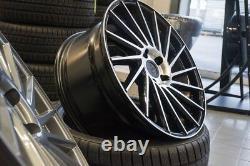 19 Zoll Keskin Kt17 Alu Felgen 5x112 Et 45 Schwarz Für Audi Vw Skoda Seat Gti S3