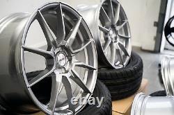 19 Zoll Motec Ultralight Mcr2 Alu Felgen 5x112 Für Audi Vw Skoda Seat Gti S3 Rs