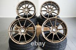 19 Zoll Motec Ultralight Mcr2 Felgen Bronze Für Audi Vw Skoda Siège Gti S3 R32 R