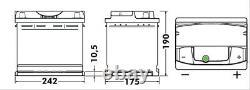 1x Exide Premium 64ah 640cca 12v Type 027 Ea640 Batterie De Voiture 4 Ans Garantie