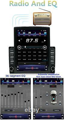 2din Android 9.1 9.7'' Voiture Stereo Radio Mp5 Gps Navigation 4-core 1+16gb Wifi Bt