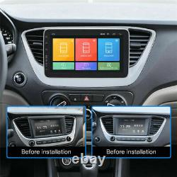 9 Pouces Car Stereo Radio 1 Din Fm Gps Navi Mp5 Player Touch Screen Android 16 Go