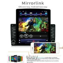 Android 8.1 1din 10.1in Voiture Stereo Radio Sat Nav Gps Wifi Mp5 Player&rear Camera
