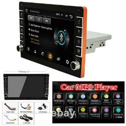 Android 8.1 Voiture Simple 1din Bluetooth Stereo Fm Radio Gps Navi 9in Écran Tactile