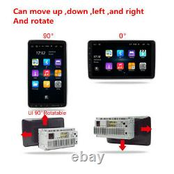 Android 9.1 10.1in 2din Voiture Radio Stereo Fm Gps Wifi Bluetooth Mp5 Player+camera