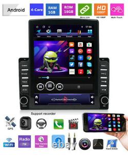 Android 9.1 9.7in 2din Voiture Stereo Radio Gps Navigation Lecteur Wifi Gratuit Camaera