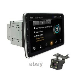 Android 9.1 Double Din 10.1 Voiture Stereo Radio Gps Nav Wifi Écran Tactile Aveccamera
