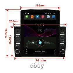 Android8.1 1din 10.1dans Bt Car Stereo Radio Sat Nav Gps Wifi Audio Usb Mp5 Player