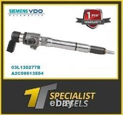 Audi Vw Seat 1.6 Injecteur Reconditionné 03l130277s 03l130277b Garantie 1 An