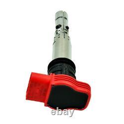 Boîte De Bobine D'allumage Véritable 4x U5014 Pour Audi R8 Q7 A3 A4 Golf 5/leon 06c905115b