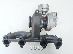 Bxe Bkc Bjb Turbocompresseur Hybride Kkk 751851 Sat Audi Vw Skoda 1.9 Tdi 170ch