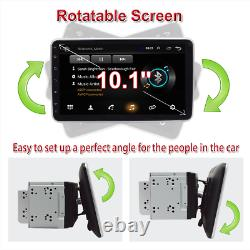 Double 2din 10.1dans Android 8.1 Bluetooth Car Radio Stereo Mp5 Player Gps Sat Nav