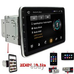 Écran Tactile 10.1po 2din Car Multimedia Player Android 9.1 Radio Stereo Gps Wifi