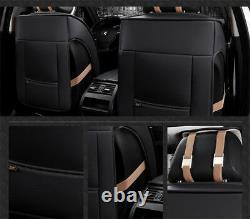 En Cuir Respirant Voiture Couverture De Siège Complet Coussin De Siège Complet Surround 3d Luxe