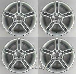 Ensemble De Quatre Vraie Volkswagen 17 5x100 Bi Turbo Bbs Alliage Roues X4 Pas De Bouchons