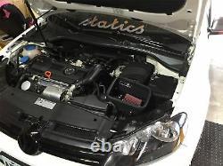 Mst Performance Cone Air Filter Induction Kit Golf Mk5 Mk6 1,4 Tsi Tfsi