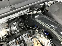 Mst Turbo Intake Elbow & Silicone Hose +12bhp Vw Golf Mk7 Gti R S3 Mqb Tsi