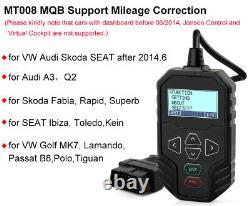 Obdprog Mt008 Outil De Correction Du Kilométrage Obd Pour Vag Audi Skoda Seat Vw