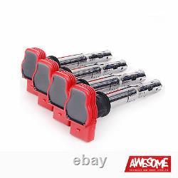 Oem Audi R8 Red Coil Pack Set 2.0tfsi/2.0tsi A3/golf 5/leon 06e905115e